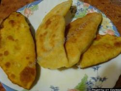 Кулинарный рецепт Чебуреки заварные с фото