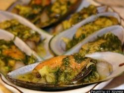 Кулинарный рецепт Мидии маринованные с фото