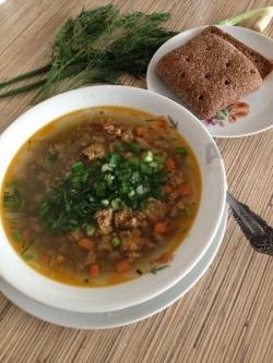 Суп из маша с морковью и луком Маш-Хур рецепт с фото