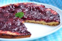 Рецепт Тарт с карамелизированной клубникой с фото