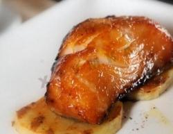 Кулинарный рецепт Рыба, обжаренная в соусе мисо с фото