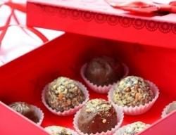 Шоколадные конфеты с фундуком рецепт с фото