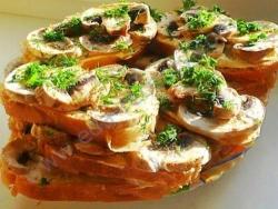 Бутерброды Грибная сказка