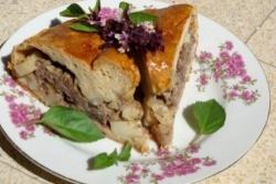 Пирог Балиш рецепт с фото