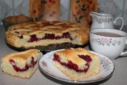 Как приготовить Малиновый пирог рецепт с фото