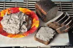 Форшмак из селедки рецепт приготовления с фото