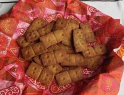 Карамельное песочное печенье
