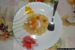 Апельсиновое желе рецепт с фото