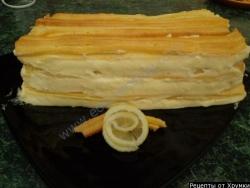 Торт заварной рецепт с фото