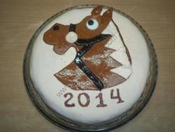 Торт Новогодняя лошадь рецепт с фото