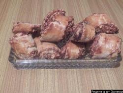 Кулинарный рецепт Гата с арахисом и кунжутом с фото