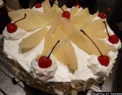 Торт со сливками