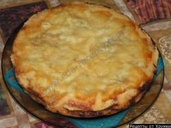 Яблочный пирог в мультиварке рецепт приготовления с фото