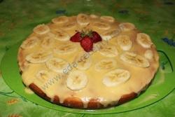 Как приготовить Манник с бананами рецепт с фото
