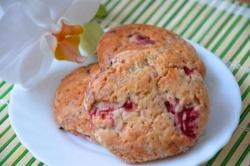 Печенье с клубникой рецепт с фото