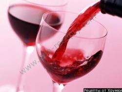 Кулинарный рецепт Домашнее красное вино с фото