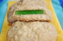 Кулинарный рецепт Печенье с мармеладом без выпечки с фото