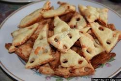 Сырное  печенье рецепт испечь
