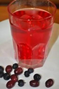 Компот из кизила и черной смородины рецепт с фото