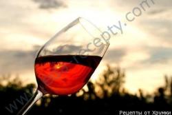 Кулинарный рецепт Сухое виноградное вино с фото