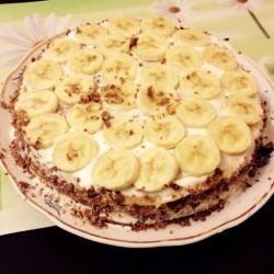 Кулинарный рецепт Блинный торт со сметанным кремом с фото