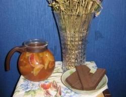 Апельсиновый компот рецепт приготовления с фото