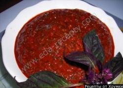 Абхазская аджика без помидор