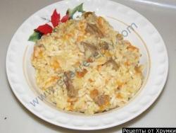 Плов на сковороде рецепт приготовления