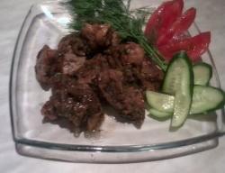 Кулинарный рецепт Свинина с болгарским перцем с фото