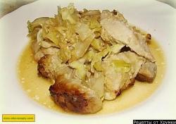 Жаркое из свинины с имбирём