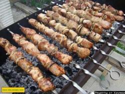 Шашлык из свинины в минералке как приготовить рецепт с фото