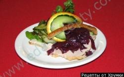 Рецепт Рагу из свинины с красной капустой по-датски с фото