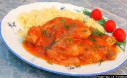 Жаркое из свинины по-итальянски