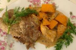 Как приготовить Мясо с апельсинами рецепт с фото