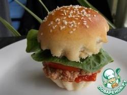 Аристократический гамбургер