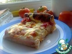 Домашний пирог-пицца