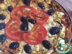 Пицца с фетой по‑гречески