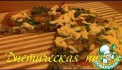 Диетическая пицца по Дюкану