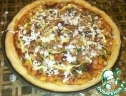 Рыбная пицца
