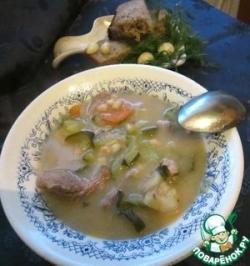 Томленный суп по-деревенски