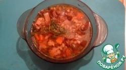"""Грибной суп """"Мускатный"""""""