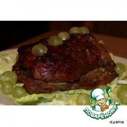Карамельная свининка