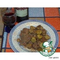 Свинина под соусом из портвейна (Carne de porco com vinho do Porto)
