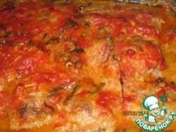 Фрикадельки в помидорном соусе