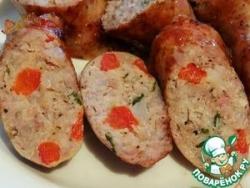 Колбаска свиная-гриль с перчиком