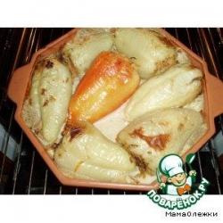 Перец фаршированный печенью