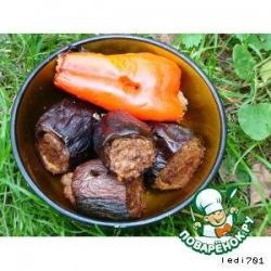 Люля-кебаб в овощах