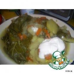 Долма с овощами