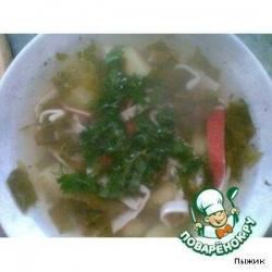 Суп из щавеля по-особому