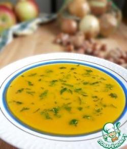 Морковно-яблочный суп-пюре